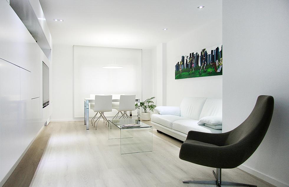 Muebles Tv Valencia : Chiralt arquitectos valenciareforma integral de piso en