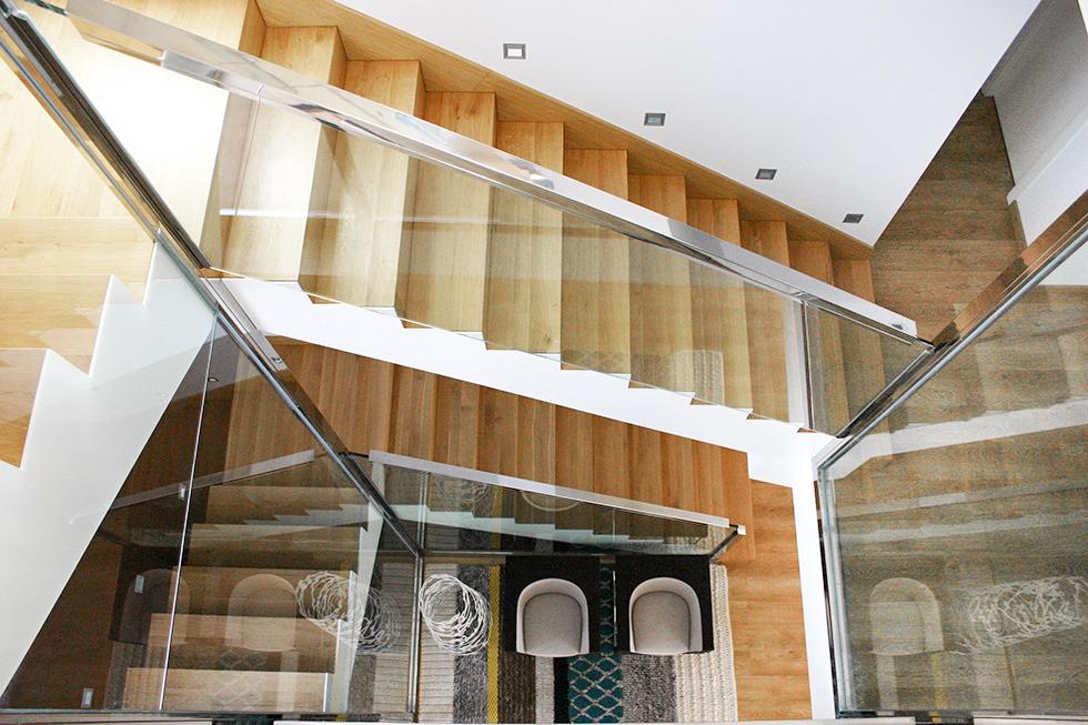 Chiralt arquitectos valenciamis 10 mejores escaleras chiralt arquitectos valencia - Escaleras de cristal y madera ...