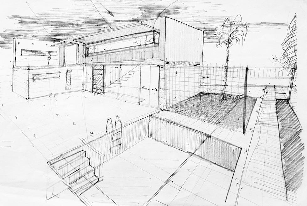 Chiralt arquitectos bocetos-22