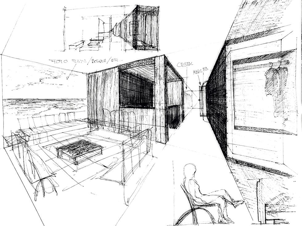 Chiralt arquitectos bocetos-3