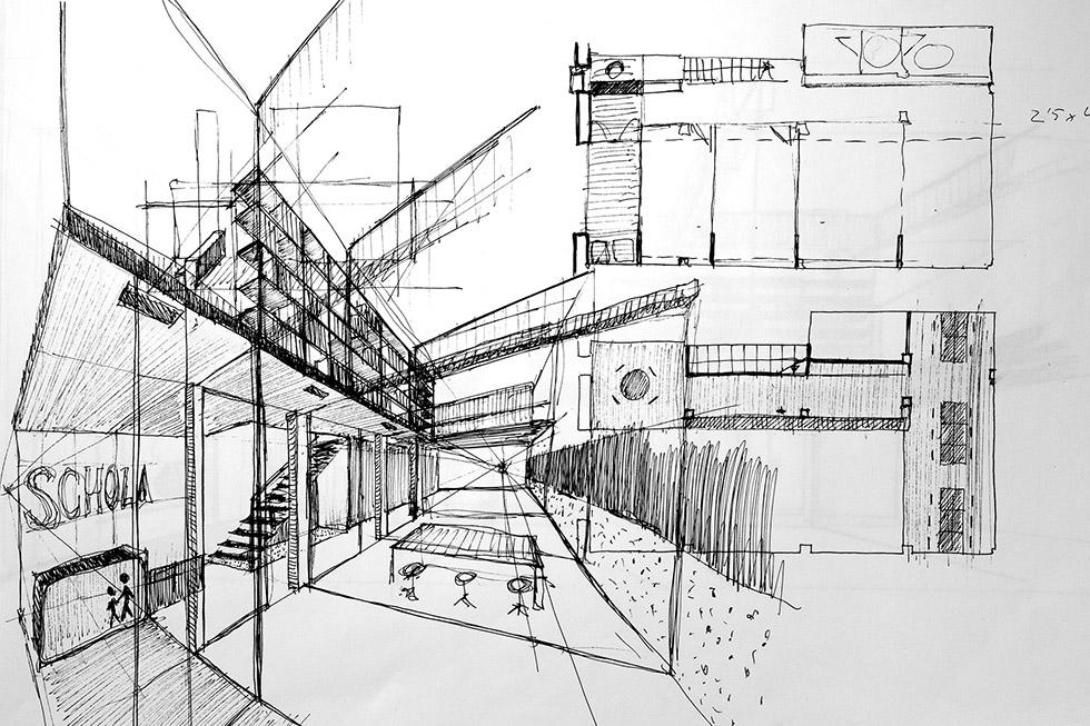 chiralt arquitectos aularis C1