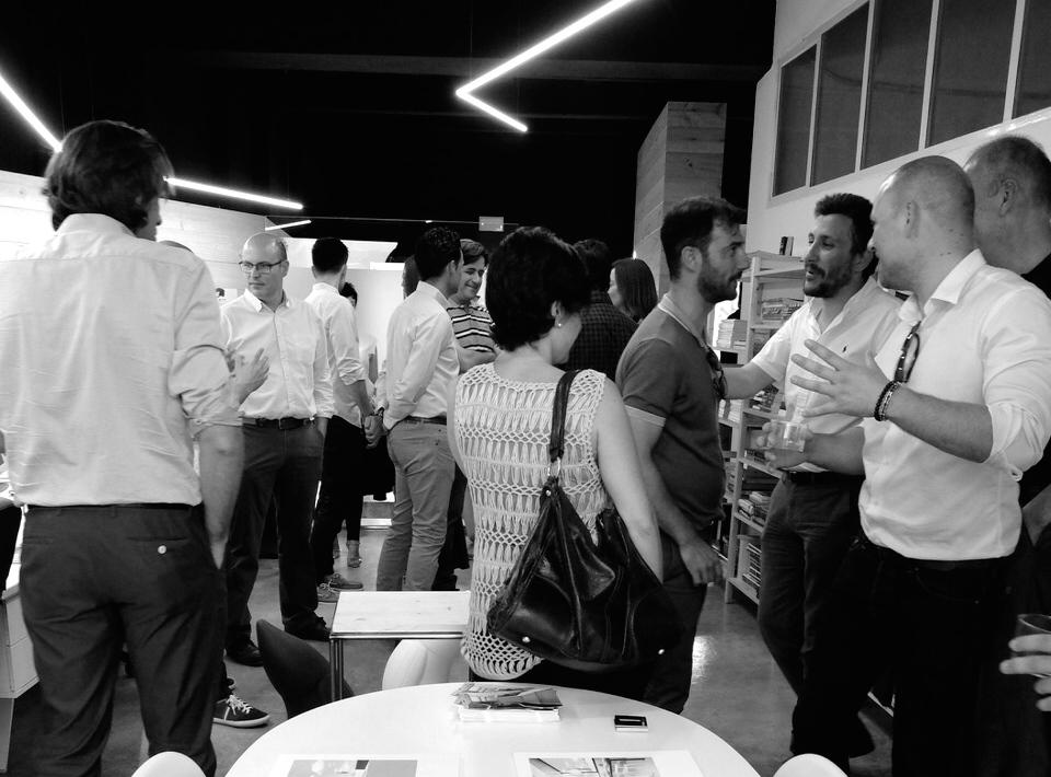 Celebrando la inauguración del Estudio Chiralt Arquitectos