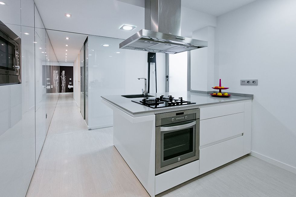 Reforma en Valencia - Manises - Cocinas Modernas - Chiralt Arquitectos