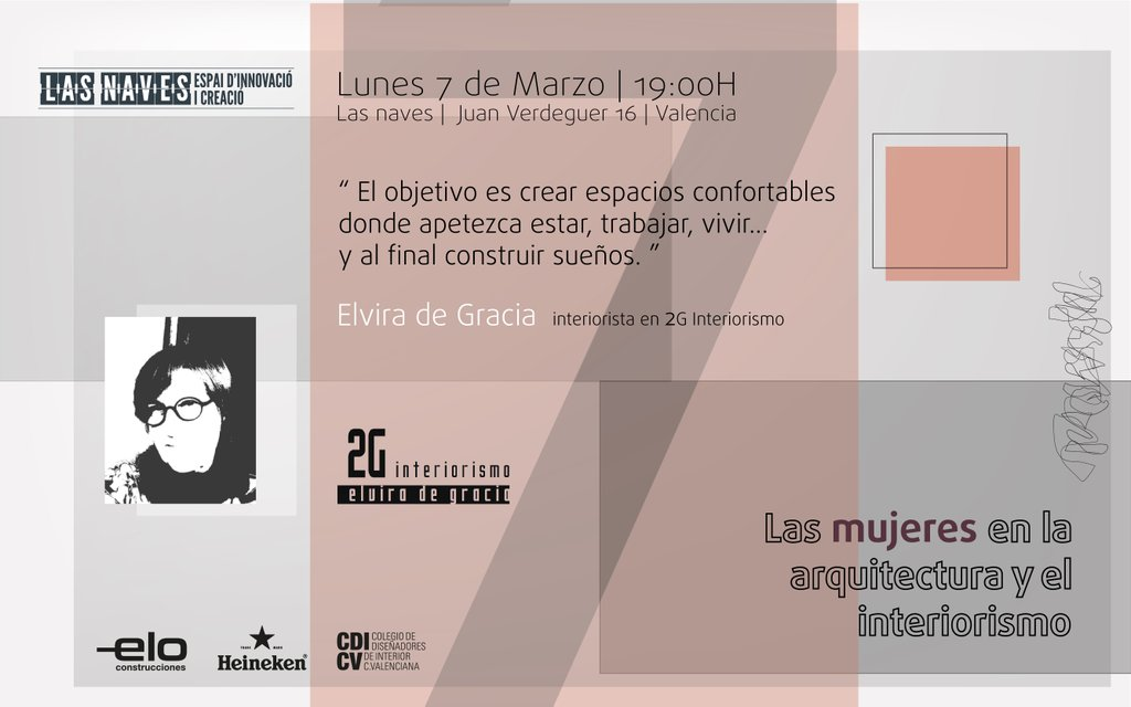 Las mujeres en la arquitectura y el interiorismo - Chiralt Arquitectos Valencia