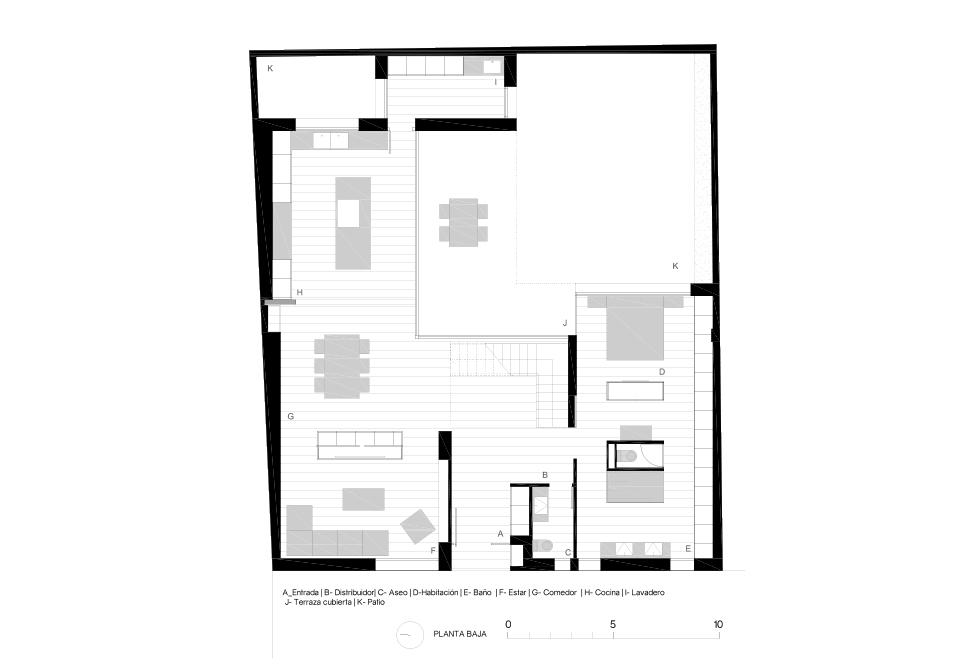 Casa Parque - Casa Patio - Chiralt Arquitectos Valencia