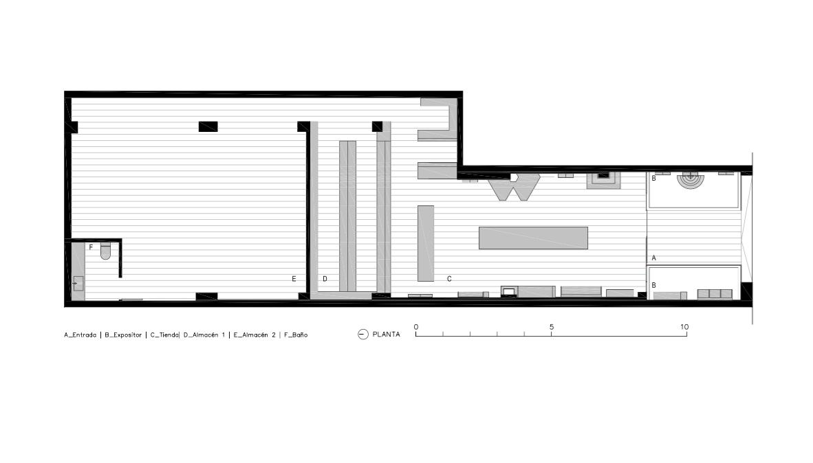 Zapatería Moreno - Chiralt Arquitectos Valencia