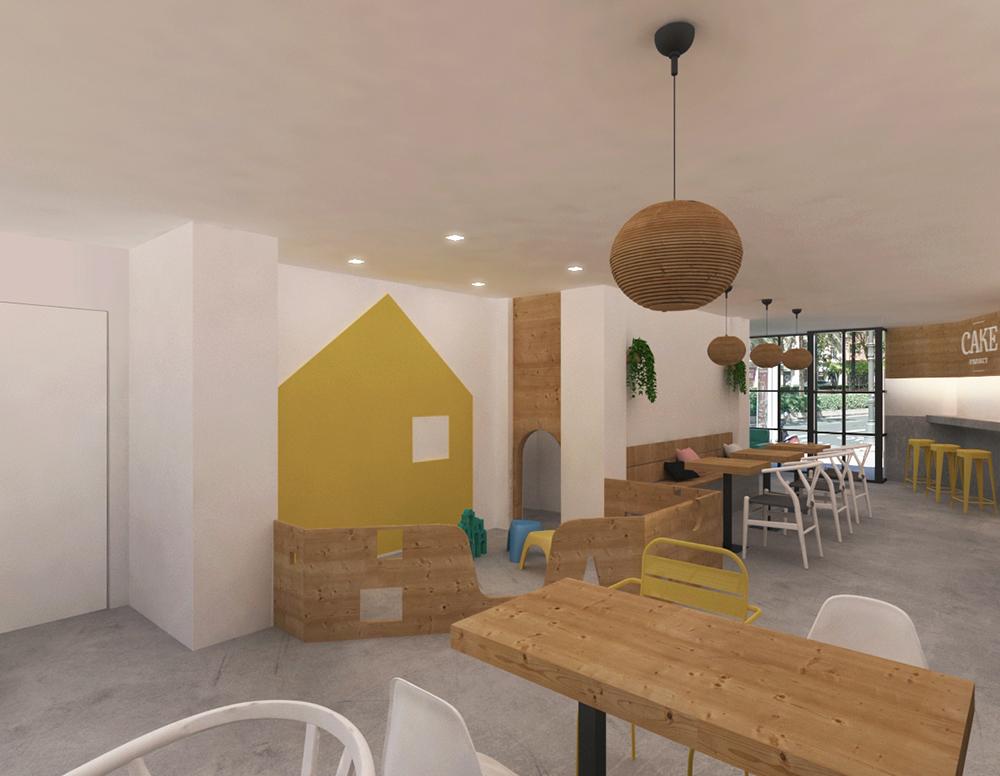 Cake project - Cafetería de diseño en Valencia - Chiralt Arquitectos Valencia